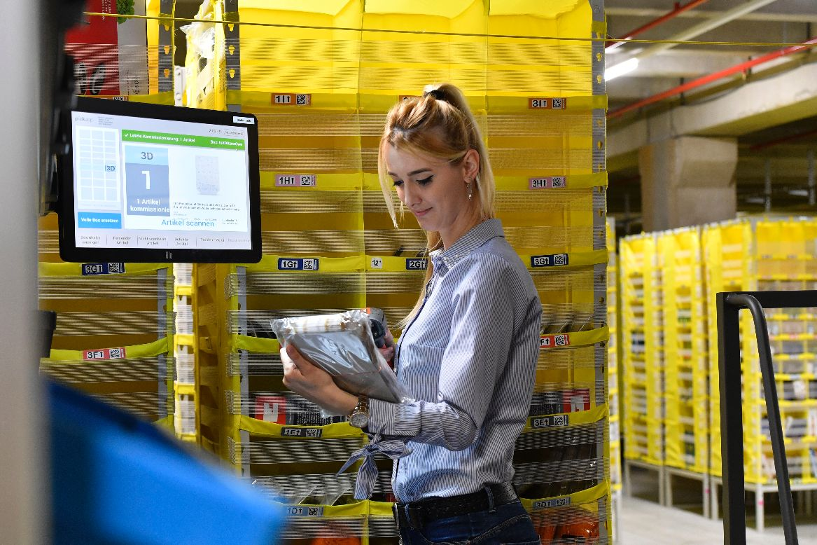 Amazon Logistikzentrum Werne