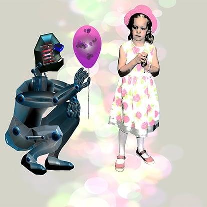 robotik - arbeitskollege roboter