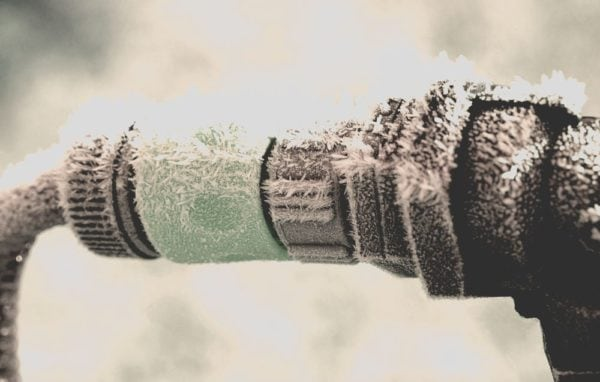 wasserleitungen winterfest machen