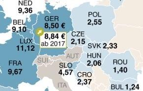 mindestlöhne deutschland