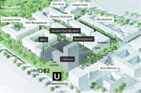 MO82 - Neues Hotel-Hochhaus in München