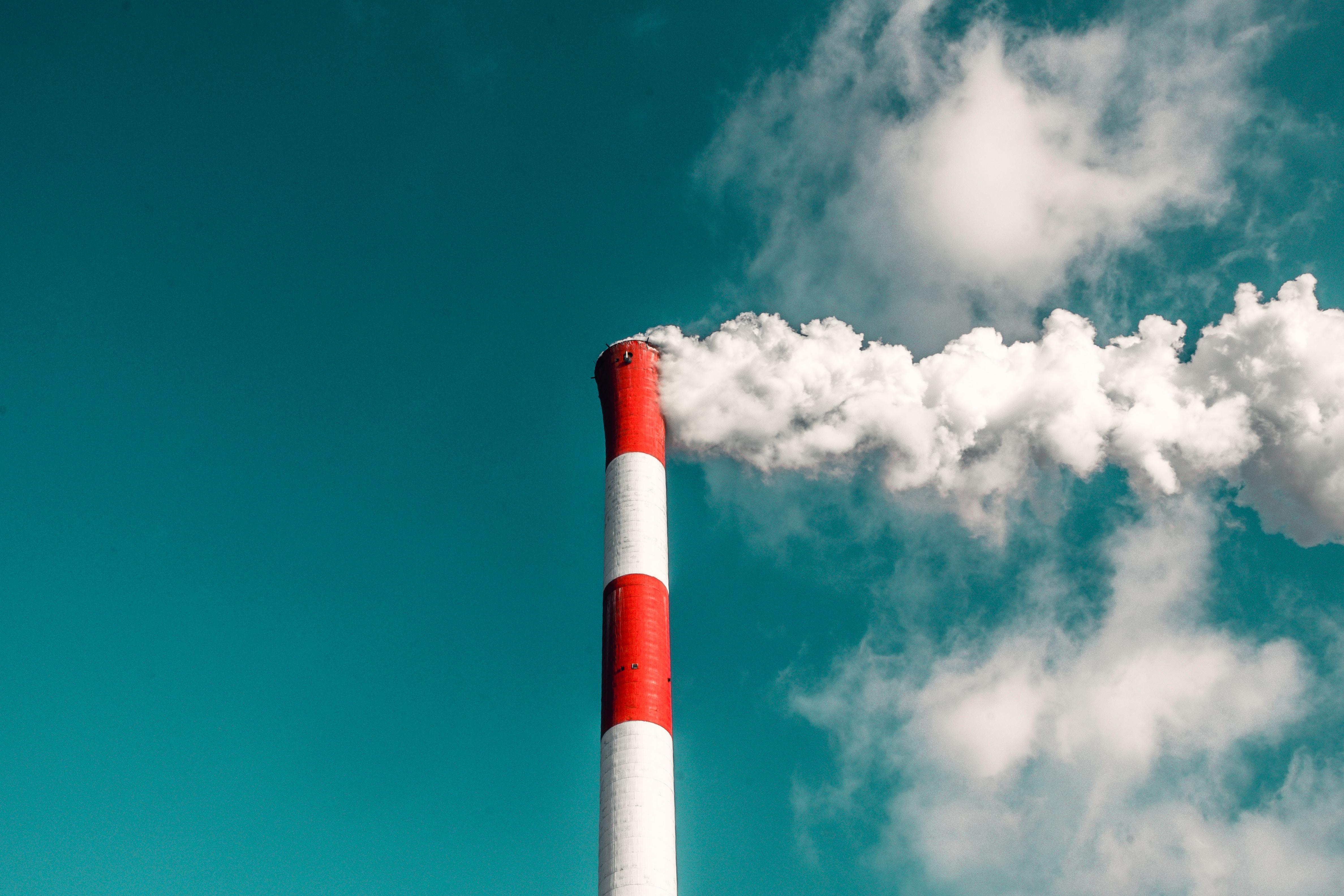 Industrie Umwelt Abgase