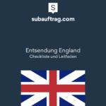 Entsendung England