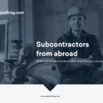 Subcontractors from abroad