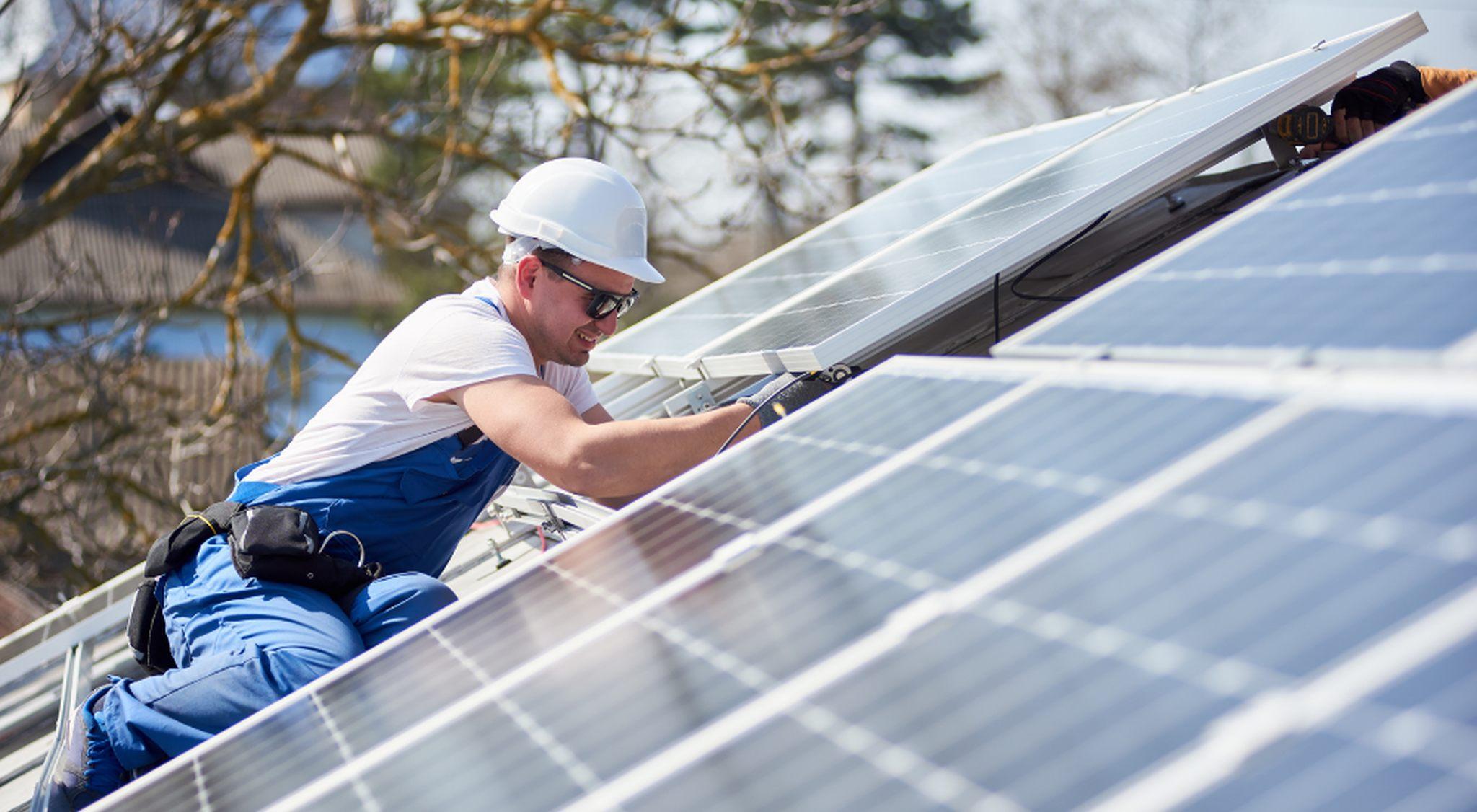 Schulung Photovoltaik Monteure