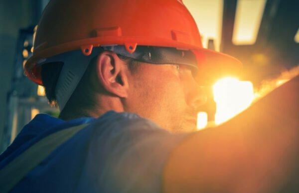 UV Schutz Baustelle